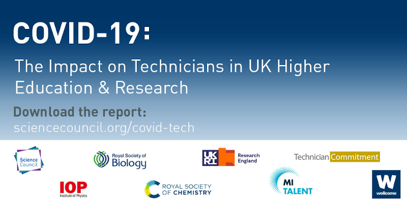 COVID19: The Impact on Technicians in UK HE & Research